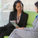 Wealth Management Advisor Reviewing Paperless Client Files
